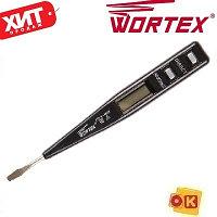Тестер напряжения 12 220 В. WORTEX VT 2509