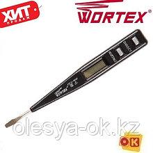 Тестер напряжения 12–220 В. WORTEX VT 2509