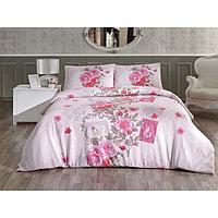 КПБ 1,5 сп Sardinya, 160х240 см, 160х220 см, 50х70 см-1 шт., розовый
