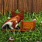 """Календарь настольный дерево """"Кошечка"""" 17х5х10 см, фото 4"""