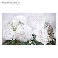 "Картина на холсте ""Букет пионов"" 60х100 см"