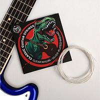 """Струны для классической гитары """"Динозавр"""", 6 шт"""