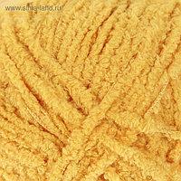 "Пряжа ""Softy"" 100% микрополиэстер 115м/50гр (216 жёлтый)"
