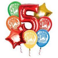 Воздушные шары, набор 'С Днем Рождения 5 лет', Человек-паук
