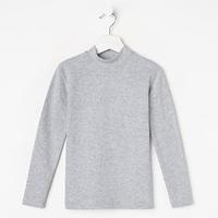 Водолазка для мальчика, цвет серый меланж, рост 158 см