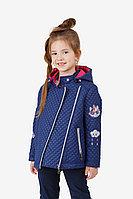 Детская для девочек осенняя синяя куртка Bell Bimbo 181001 т.синий 104-56р.