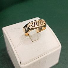 Кольцо мужское золото 19.5 размер (Россия)