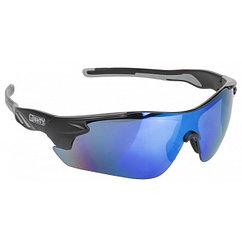 Очки  MIGHTY black, blue iridium coated lens