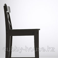 ИНГОЛЬФ Стул барный, белый, 63 см, фото 3