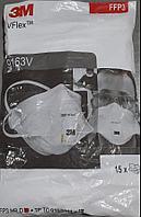 Респиратор 9163 V VFlex, складная, с клапаном выдоха.