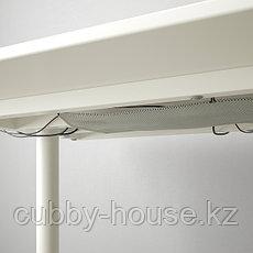 BEKANT БЕКАНТ Письменный стол, белый, 140x60 см, фото 2