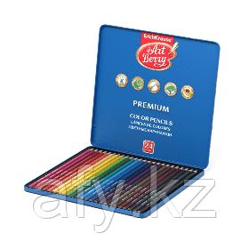 Цветные карандаши V0618 в металлич упаковке