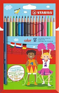 Цветные карандаши 8008-18