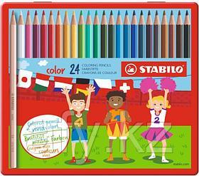 Цветные карандаши 8008-24