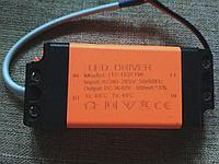 Драйвер для светильника 300mA DC36-63V 12-18W на 220 В, фото 1