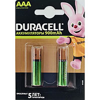 Аккумуляторы ААA Duracell 900 mAh, 2шт