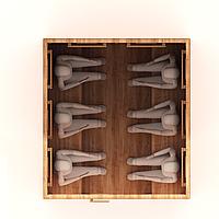 Инфракрасная сауна 6-м. 1,8*1,7*2 м. / Стандарт, фото 1