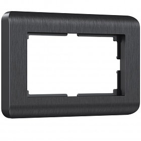 Рамка для двойной розетки /W0082104 (графит)