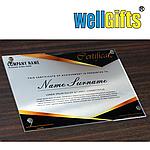 Изготовление наградных сертификатов из акрила, фото 2