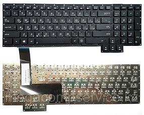 Клавиатура для ноутбука Asus G750JS, RU, черная