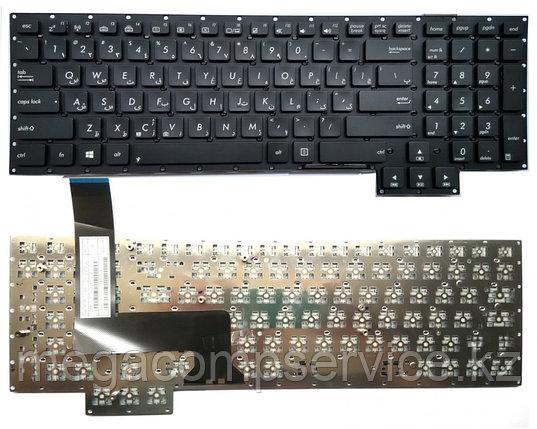 Клавиатура для ноутбука Asus G750JS, RU, черная, фото 2