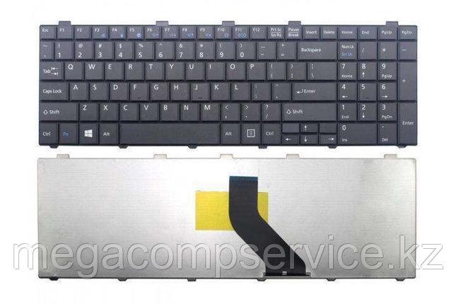 Клавиатура для ноутбука Fujitsu Lifebook AH530/  AH531, RU, черная, фото 2