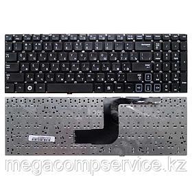 Клавиатура для ноутбука Samsung RV511, RU, без  рамки, черная