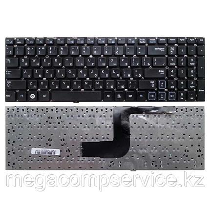Клавиатура для ноутбука Samsung RV511, RU, без  рамки, черная, фото 2