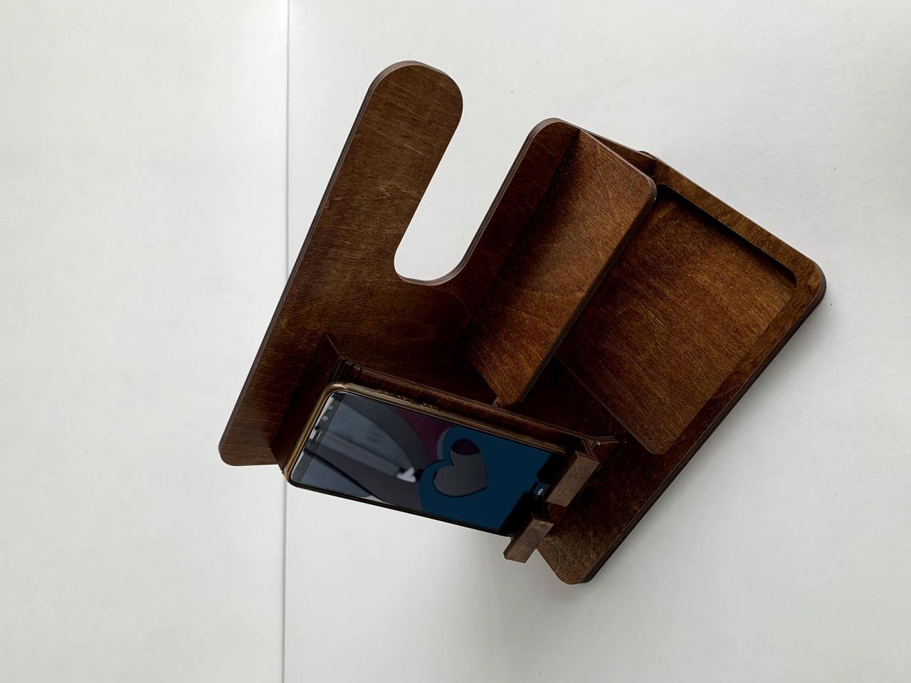 Настольный органайзер для аксессуаров и телефона - фото 3
