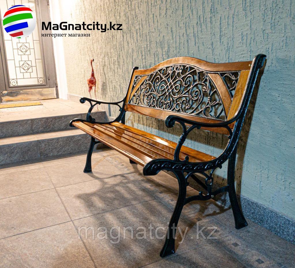 Скамейка садовая Чугунная (ZT-132)