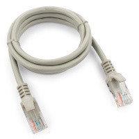 Патч-корд UTP Cablexpert PP12-1m кат.5e, 1м, литой, многожильный (серый)