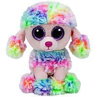 TY: Beanie Boo's. Щенок Пудель RAINBOW, 15см