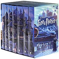 Комплект из 7 книг в футляре Гарри Поттер + Волшебная палочка в подарочной коробочке, Джоан Роулинг