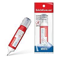 Корректор ERICH KRAUSE ARCTIC WHITE, 12 мл, в пакетике