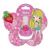 NOMI: Лак для ногтей для девочек № 7 Чайная роза в блистере