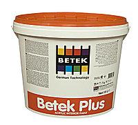 Краска Акриловая Водоэмульсионная Супермоющаяся BETEK PLUS 15л