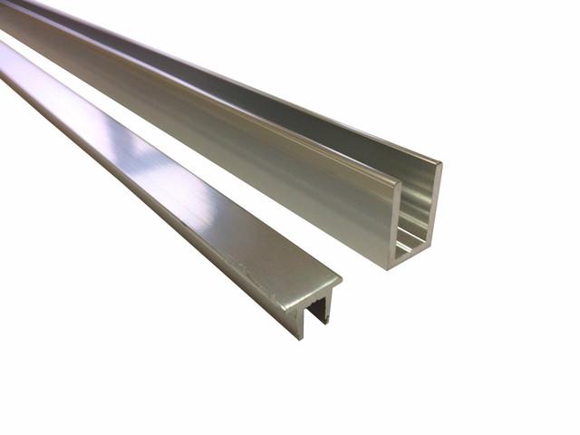 Профиль п-образный алюминиевый, профиль опорный, водозащитный порожек