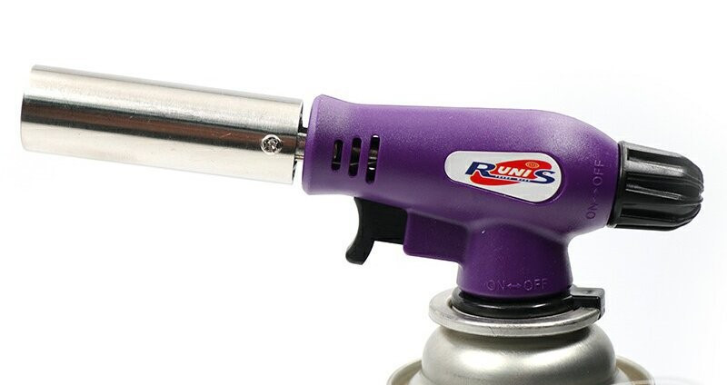 Газовая горелка RUNIS Premium P03, пьезо. (цанг.)/80/ арт. 4-048, (2039)