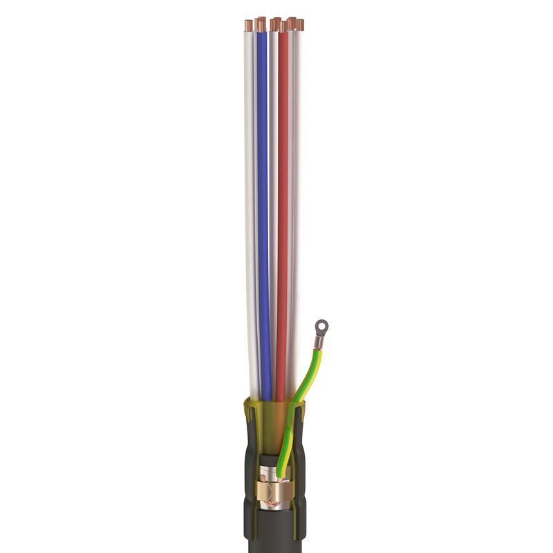 Концевые муфты внутренней установки для контрольных кабелей с пластмассовой изоляцией до 1кВ ККТ-2 нг-LS