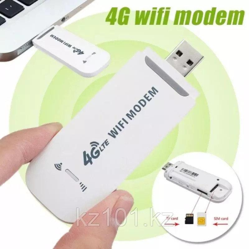 Переносной модем LTE 150 Мбит/с CPE WIFI работает на любой сим карте Роутер 4G
