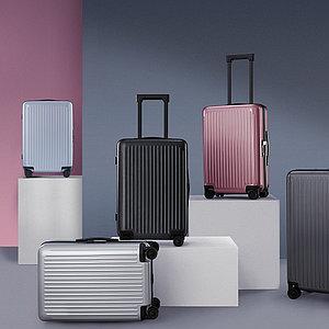 "Чемодан NINETYGO Thames Luggage 20"" Розовый"