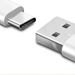Интерфейсный кабель Xiaomi Mi USB-C Cable 100см Белый