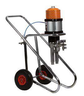 Окрасочный аппарат безвоздушного распыления TAIVER - SILVER 40 - 2K - фото 1