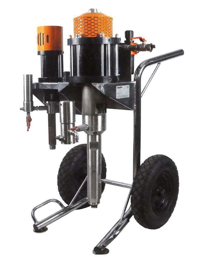 Окрасочный аппарат безвоздушного распыления TAIVER - SILVER 40 - 2K - фото 2