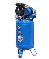 Поршневой компрессор с ременным приводом с вертикальным ресивером КВ-7-07