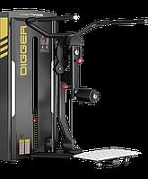 Тренажер для ягодичных мышц стоя (мульти-хип) Digger HD017-1