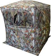 """Засидка Куб CONDOR GR250BT 1,6 х 1,6 х 1,8 КМФ """"Лес"""", с антимоскитной сеткой на окнах, (1939)"""