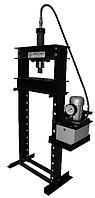 Пресс гидравлический гаражный ПГГ-10 ЭП с ручным распределителем