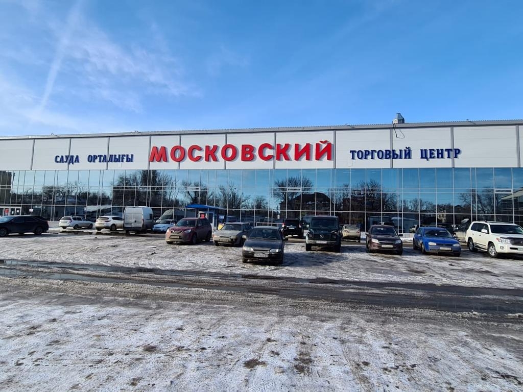 Остекление ТЦ Московский