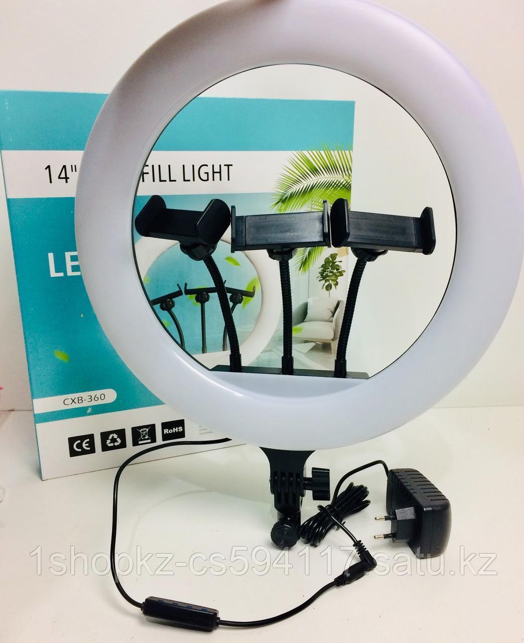 Кольцевая селфи лампа CXB 360 36см